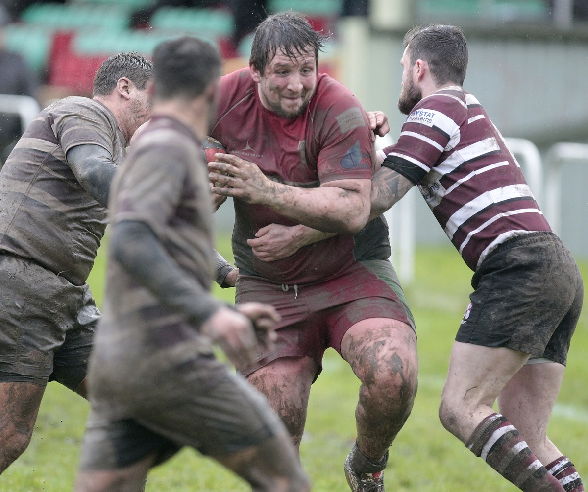 Sam Booker was among Keighley's try-scorers at home to Yarnbury Picture: Charlie Perry