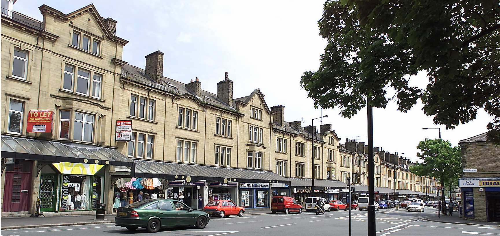 Cavendish Street in Keighley Town Centre