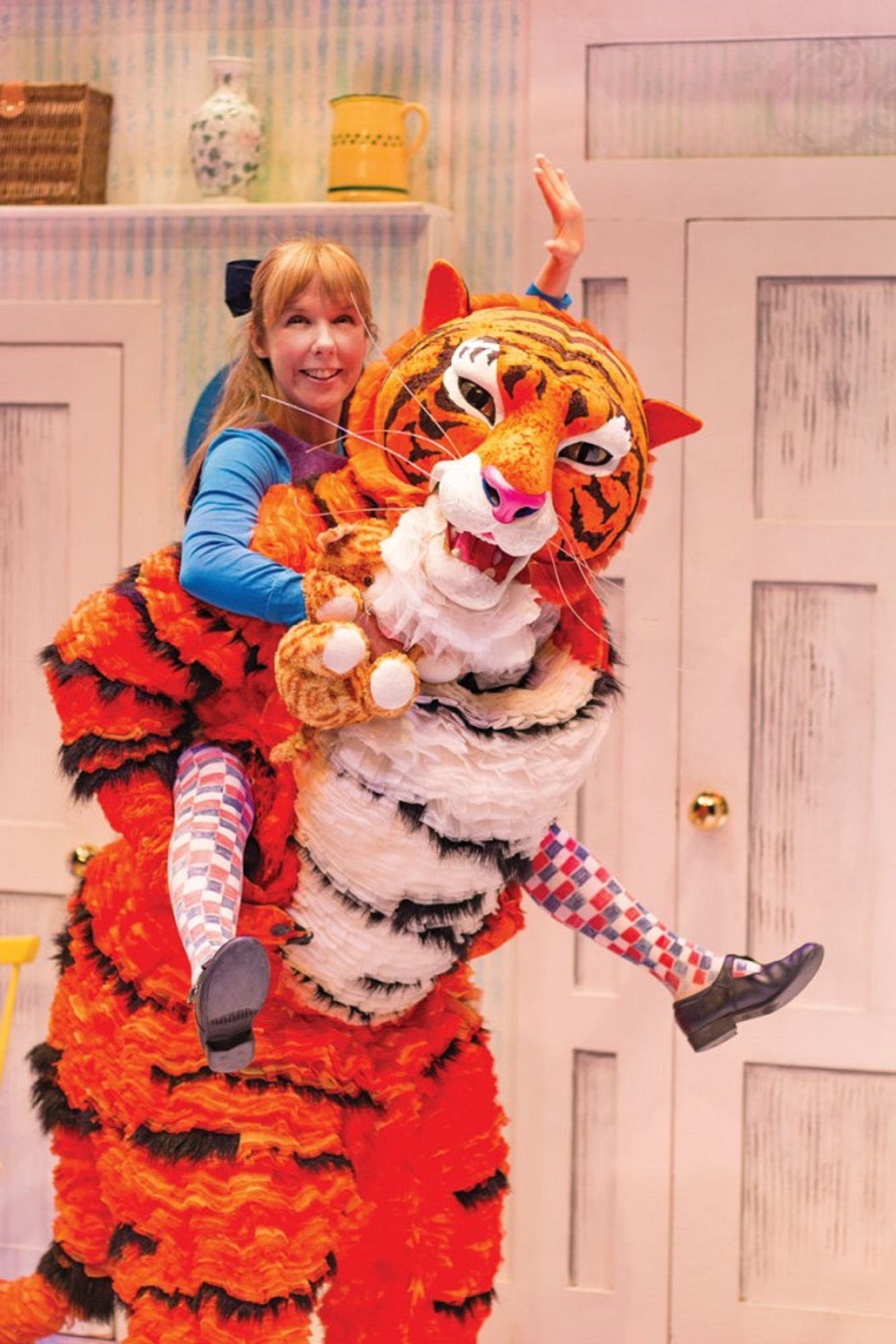 Fun for the family in The Tiger Who Came For Tea