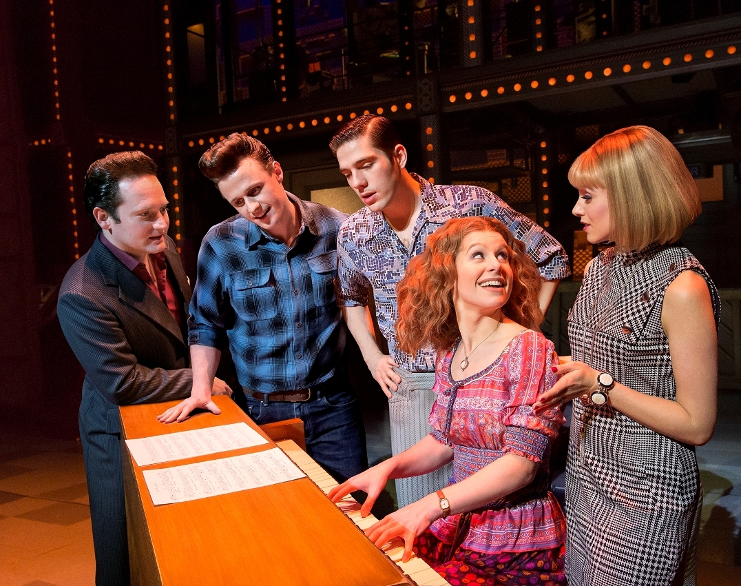 A scene from Beautiful The Carole King Musical which is at Bradford Alhambra. Photo by Birgit and Ralf Brinkhoff