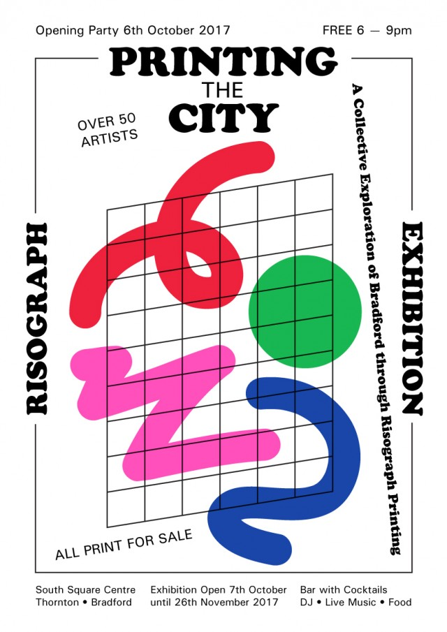 Printing The City — Risograph Exhibition