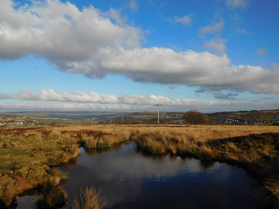 A view of Penistone Country Park, outside Haworth