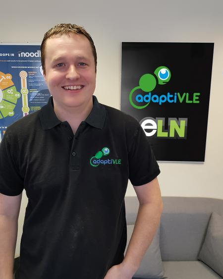 Lewis Carr, managing director of adaptiVLE