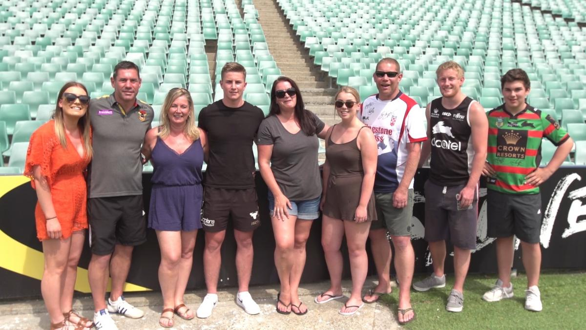 Emotional Meeting In Australia For Keighley Cougars Veteran And