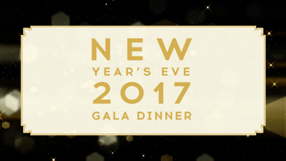Alexander's Spectacular Five-course Gala Dinner - New Year's Eve 2017