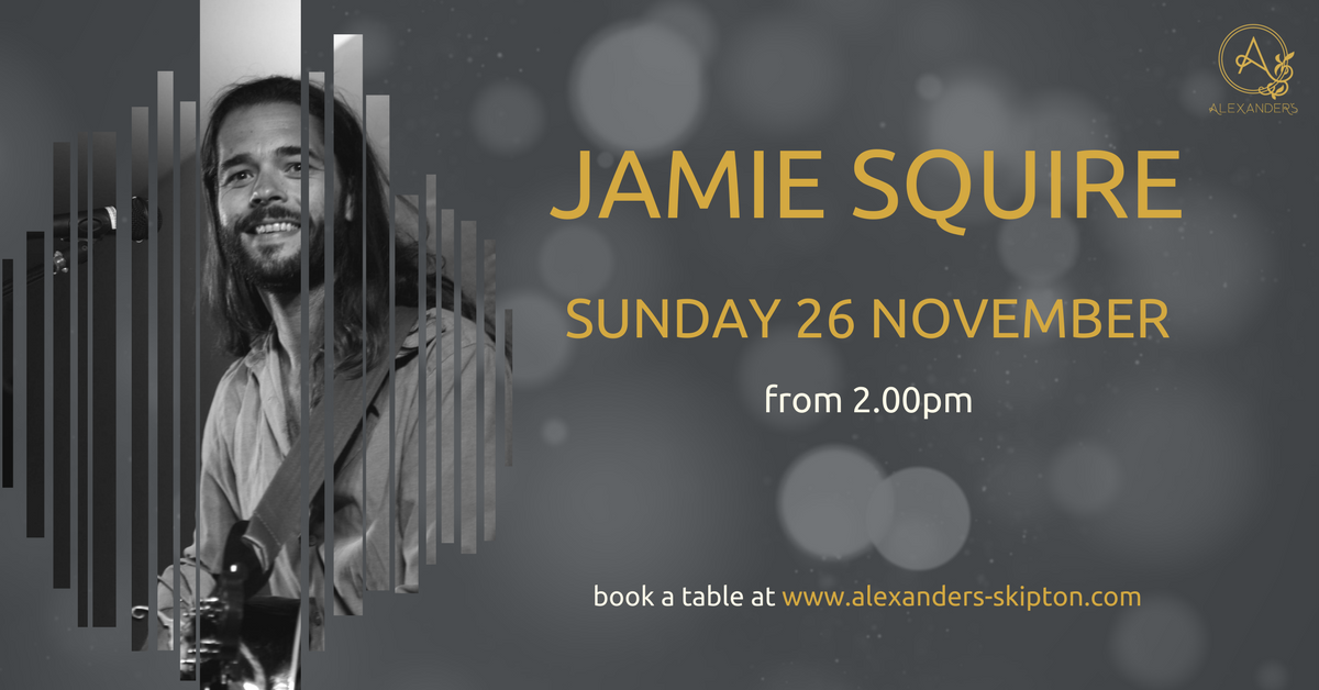 Jamie Squire- Live Music at Alexander's
