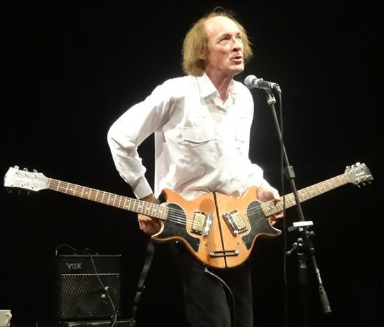 John Otway is performing at Cruck Barn
