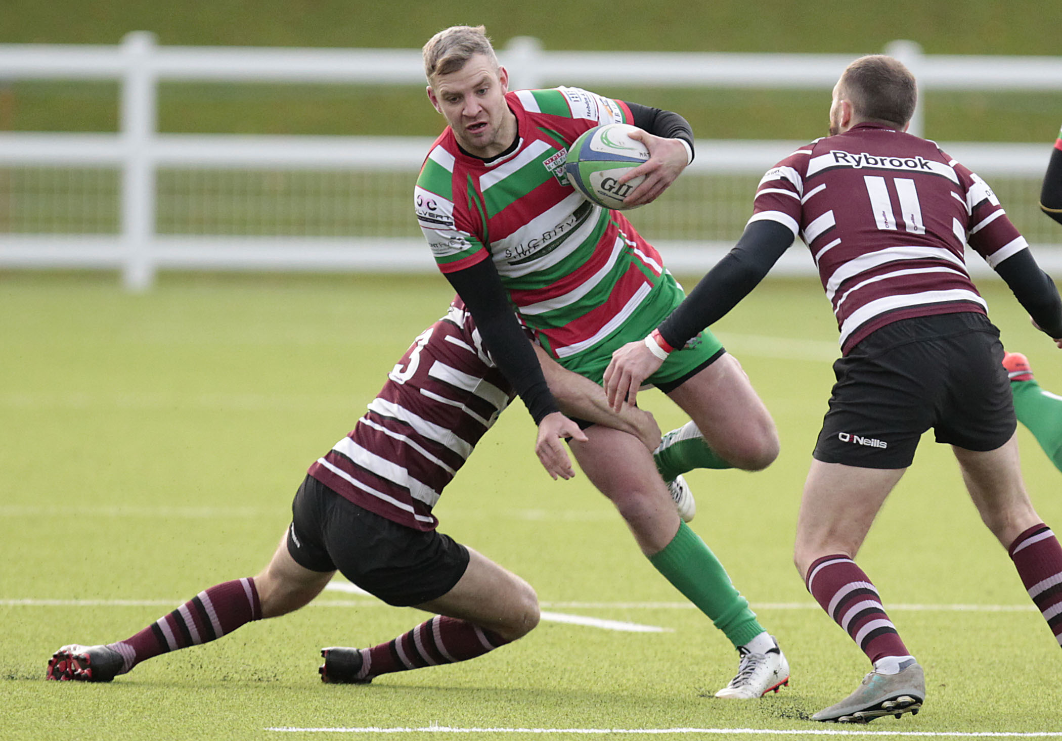 Joe Copperwaite was in the points for Keighley in their defeat at Heath    Picture: Charlie Perry