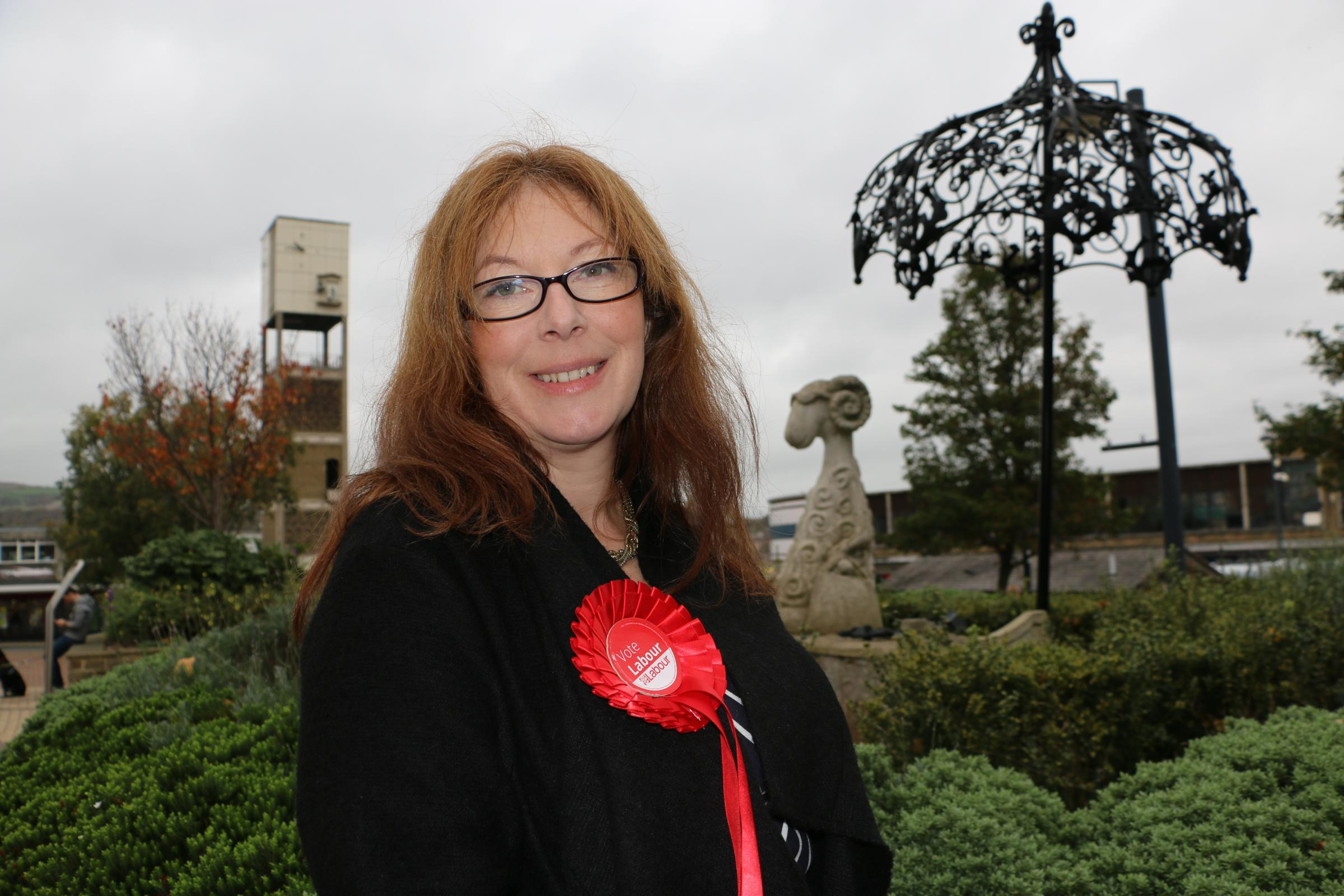 Jo Pike, new Labour candidate for Shipley