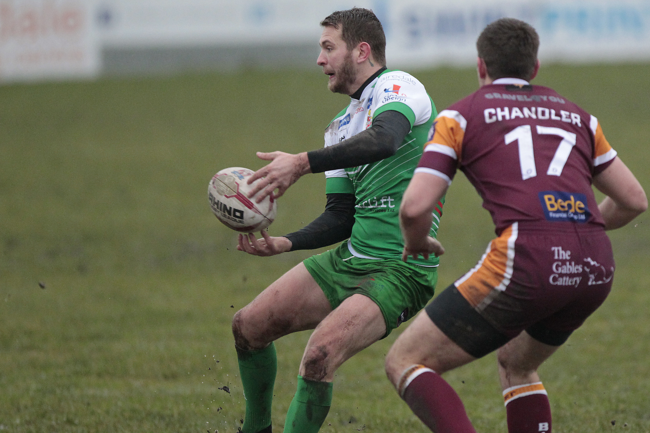 Benn Hardcastle suffered a hyper-extension of the elbow in Cougars' friendly defeat at Oldham