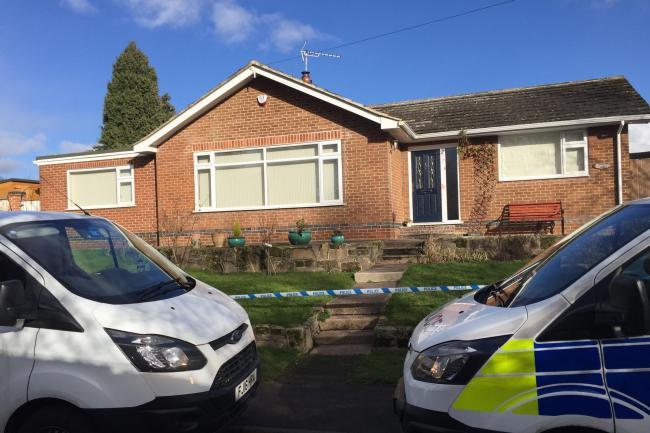 Police Outside A Bungalow On Bare Lane In Ockbrook Derbyshire Josh Payne PA