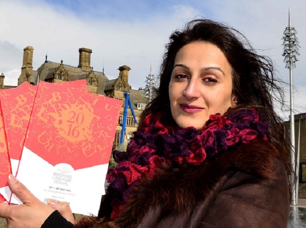 Syima Aslam, one of the founders of Bradford Literature Festival
