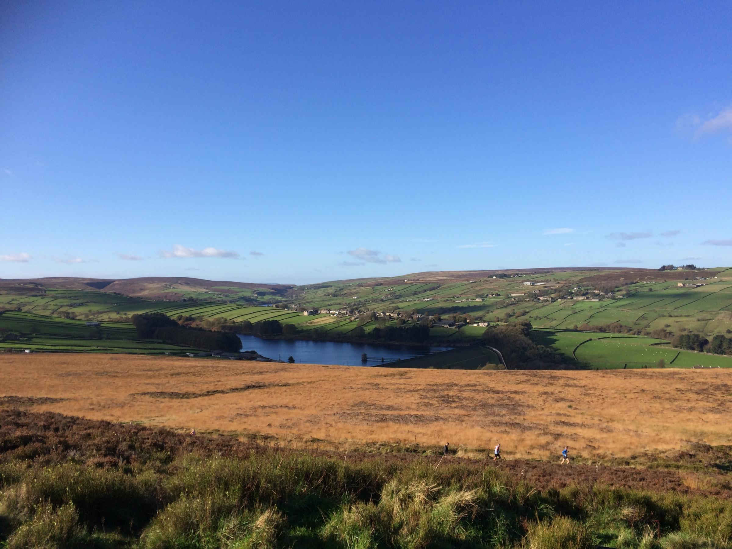 A view from Penistone Hill, on the moors outside Haworth