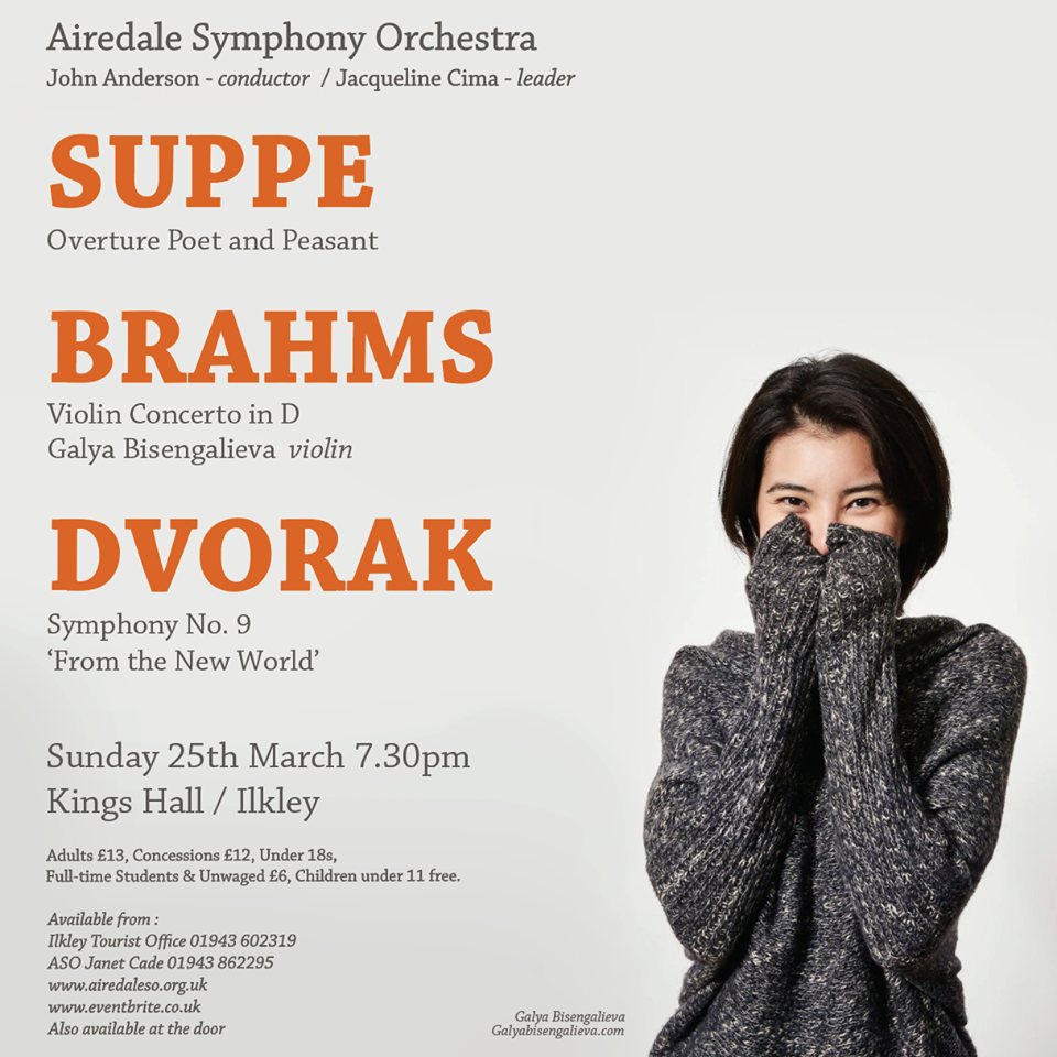 Airedale Symphony Orchestra Spring Concert