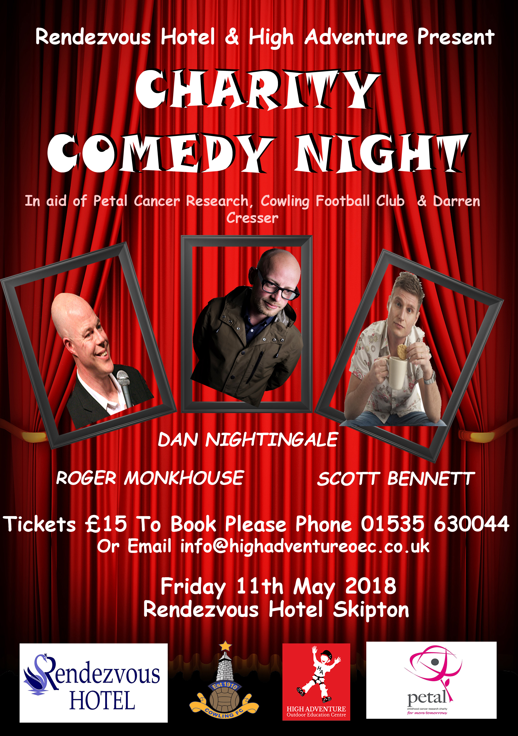 High Adventure Charity Comedy Night