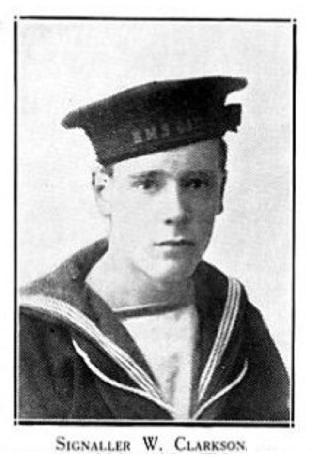 Ordinary Signalman Wilfred Clarkson, from Silsden, who died when HMS Vanguard exploded