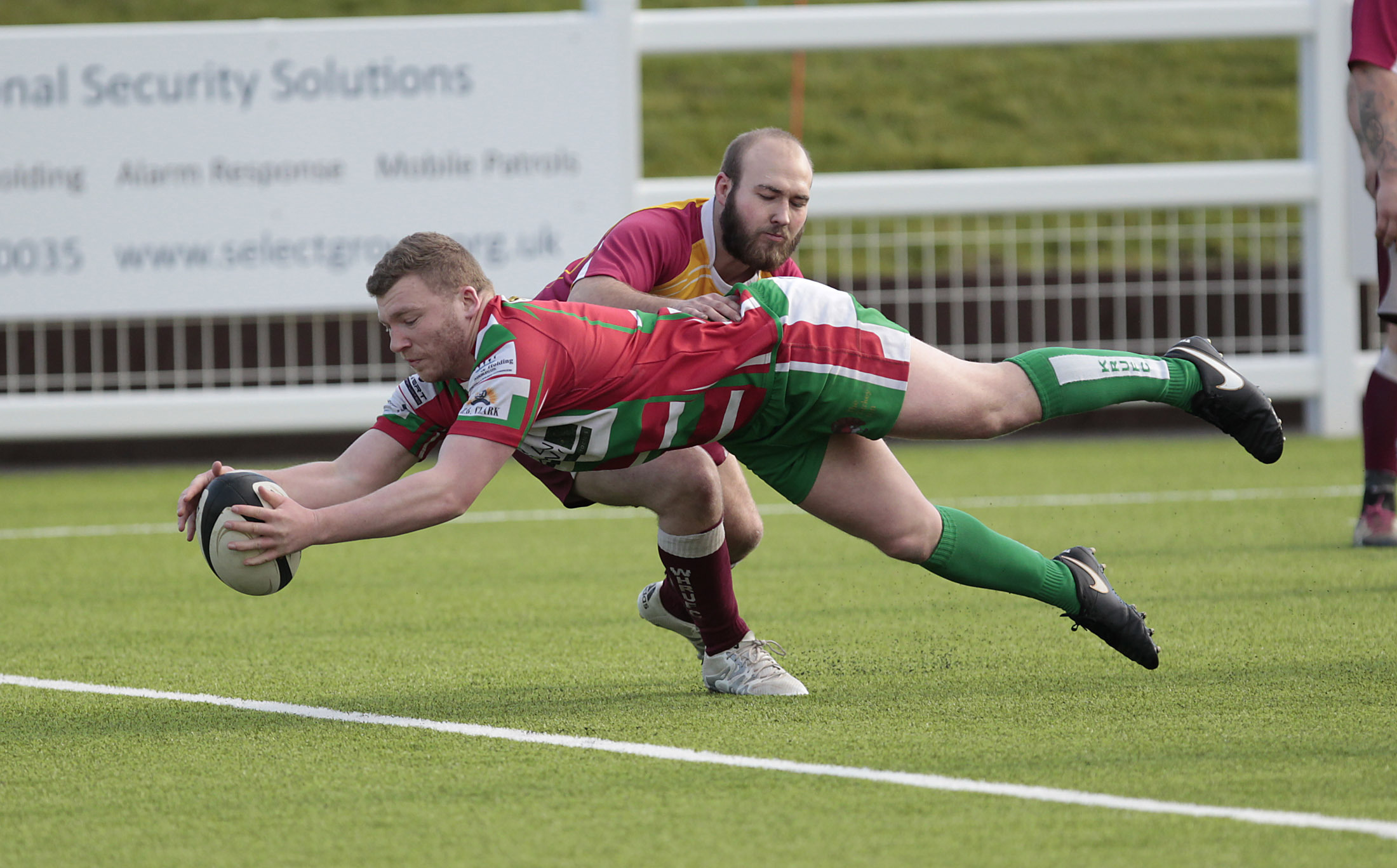 Lucas Uren was among the tries for Keighley