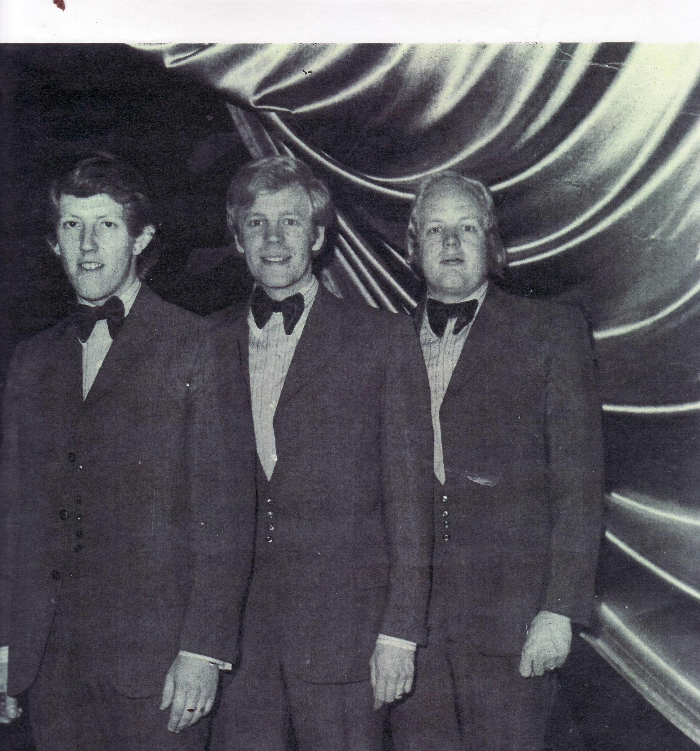 The Doveston Brothers who performed in Keighley during the 1960s