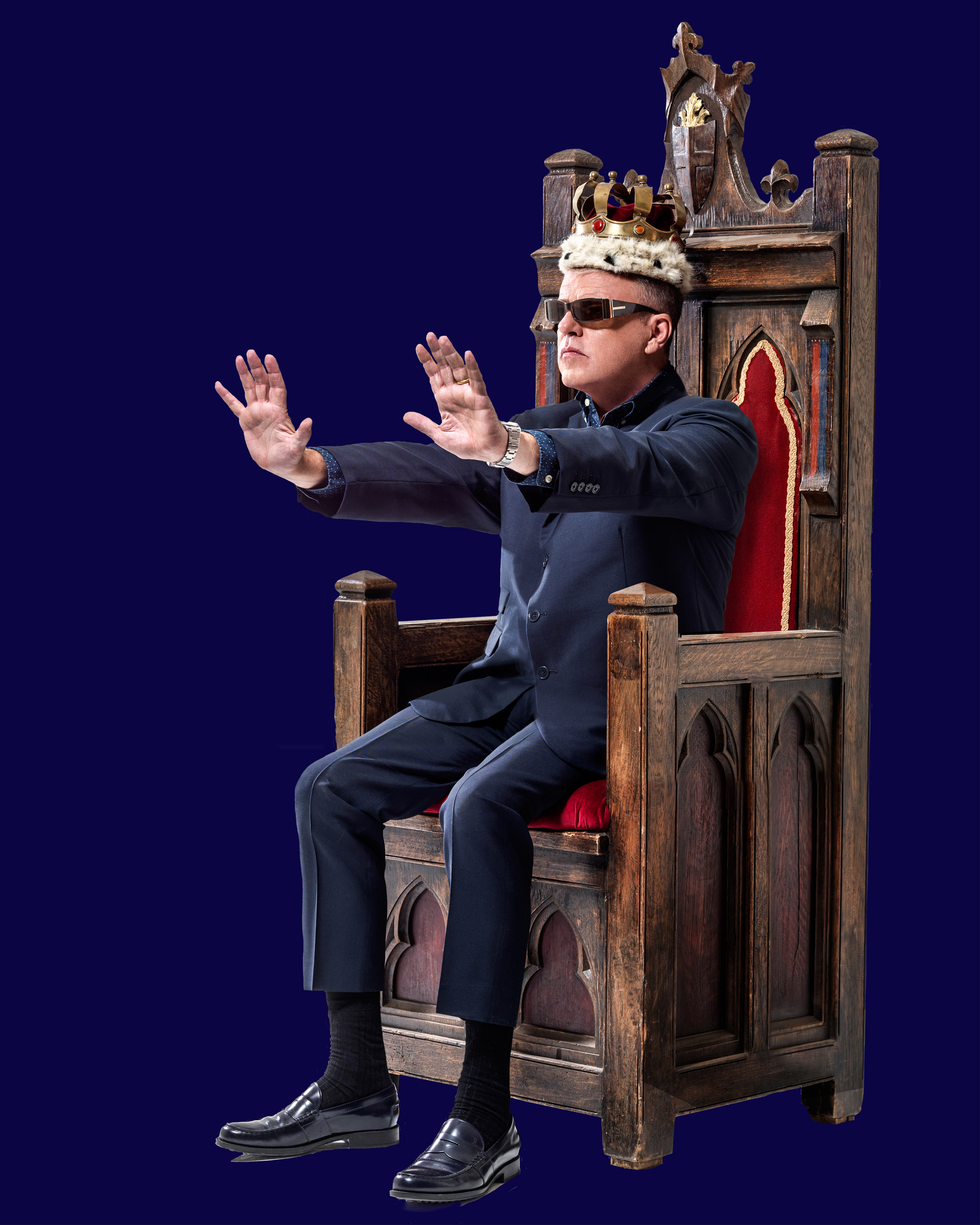 Madness singer Suggs will relate his life story at King's Hall in Ilkley