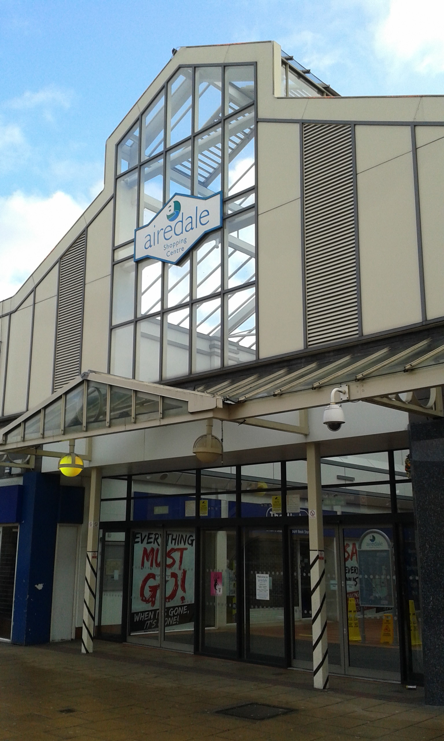 The Airedale Shopping Centre in Keighley