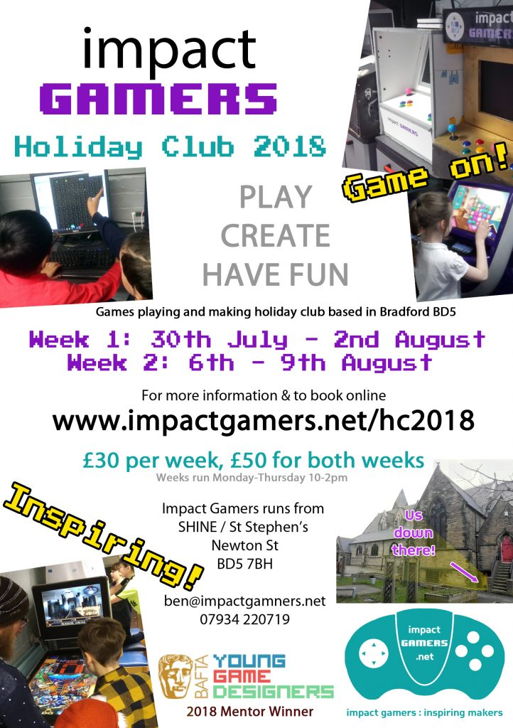 Impact Gamers Holiday Club