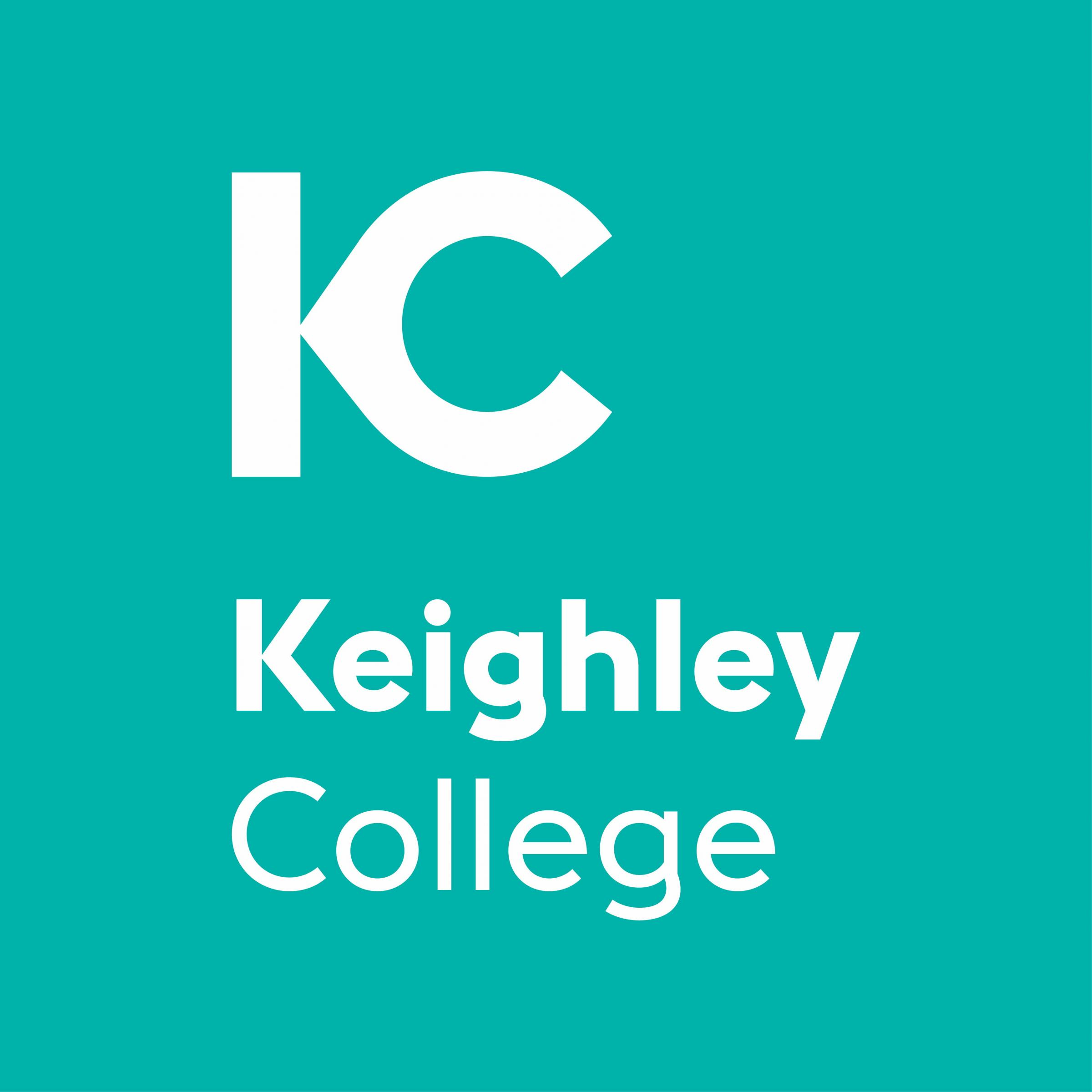 The new Keighley College logo