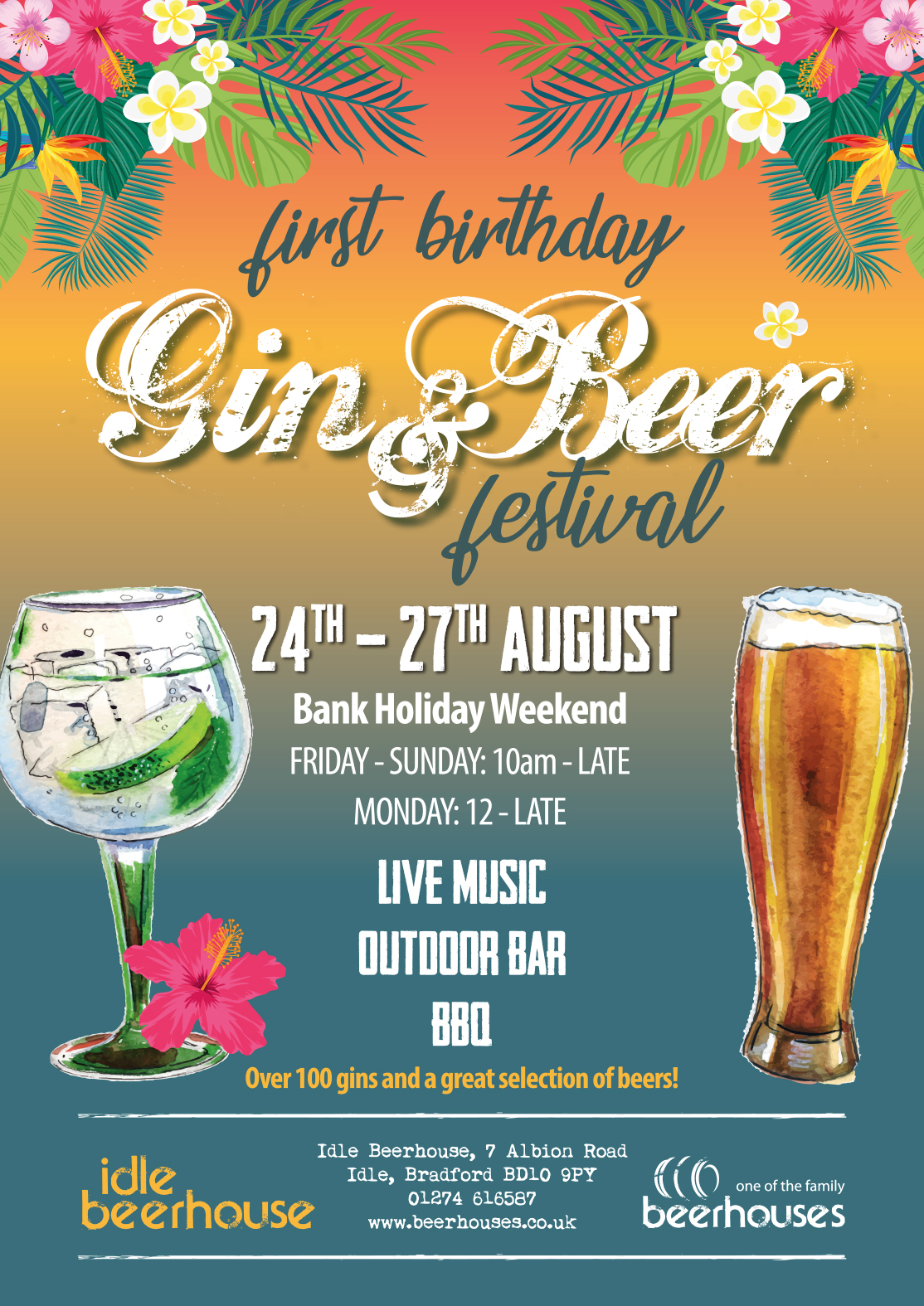 Idle Beerhouse Gin and Beer Festival