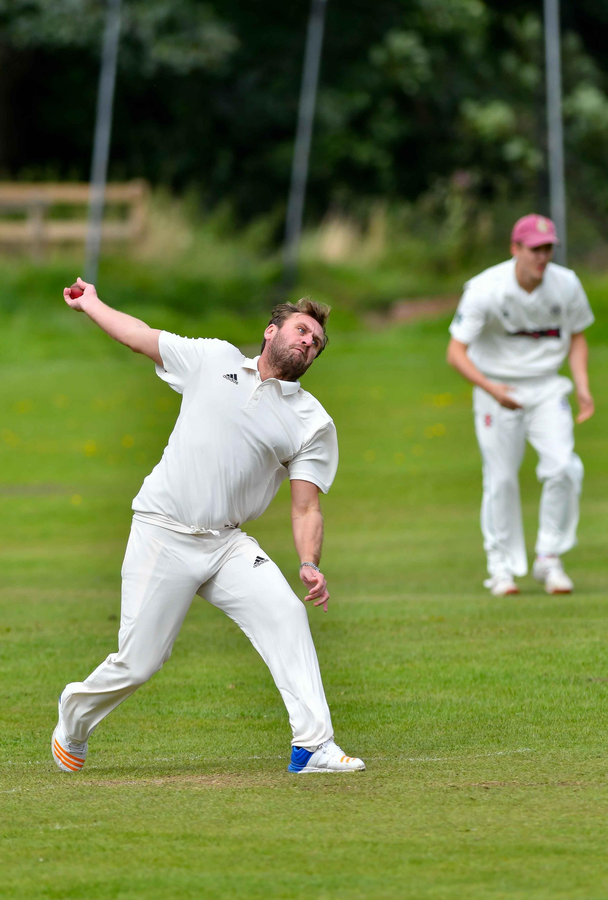 Steve Broughton took incredible figures of 4-7 as Bingley Congs II hammered Hepworth & Idle II in Division Three of the Mewies Craven Cricket League