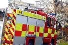 Smoking toaster sparks kitchen fire
