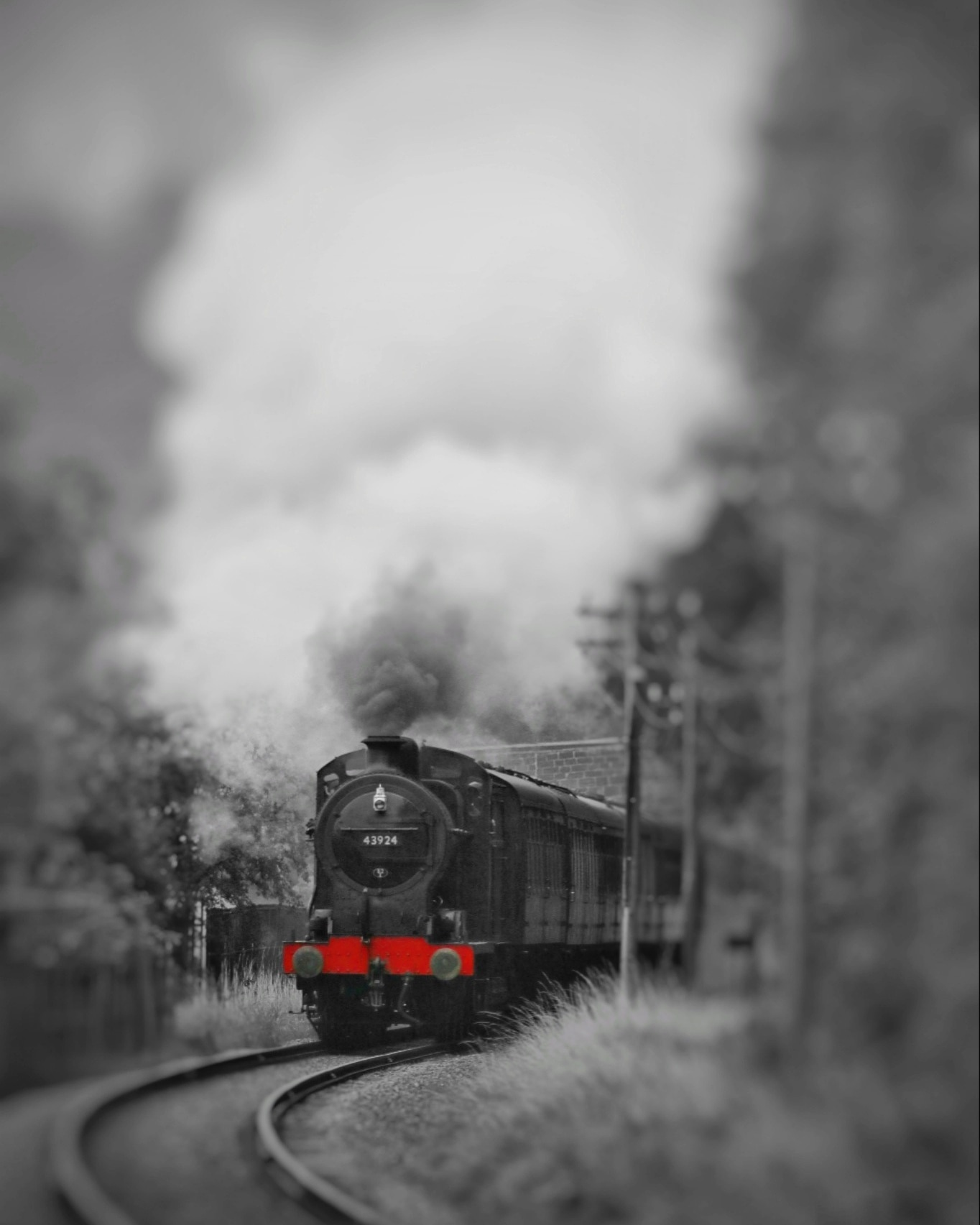 Steam for autumn on the Keighley and Worth Valley Railway