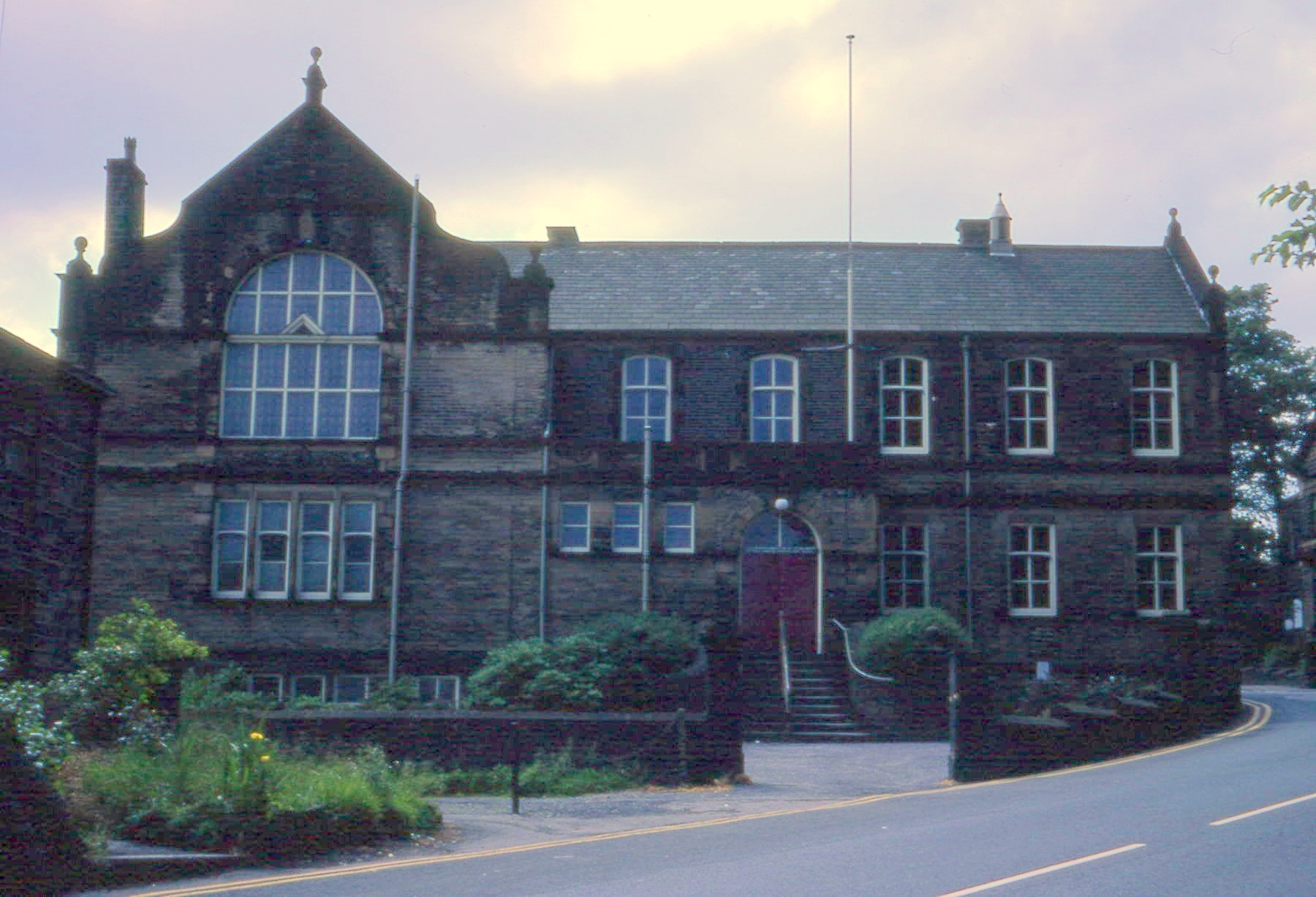 the former Oakworth Institute. Picture supplied by Andy Wade