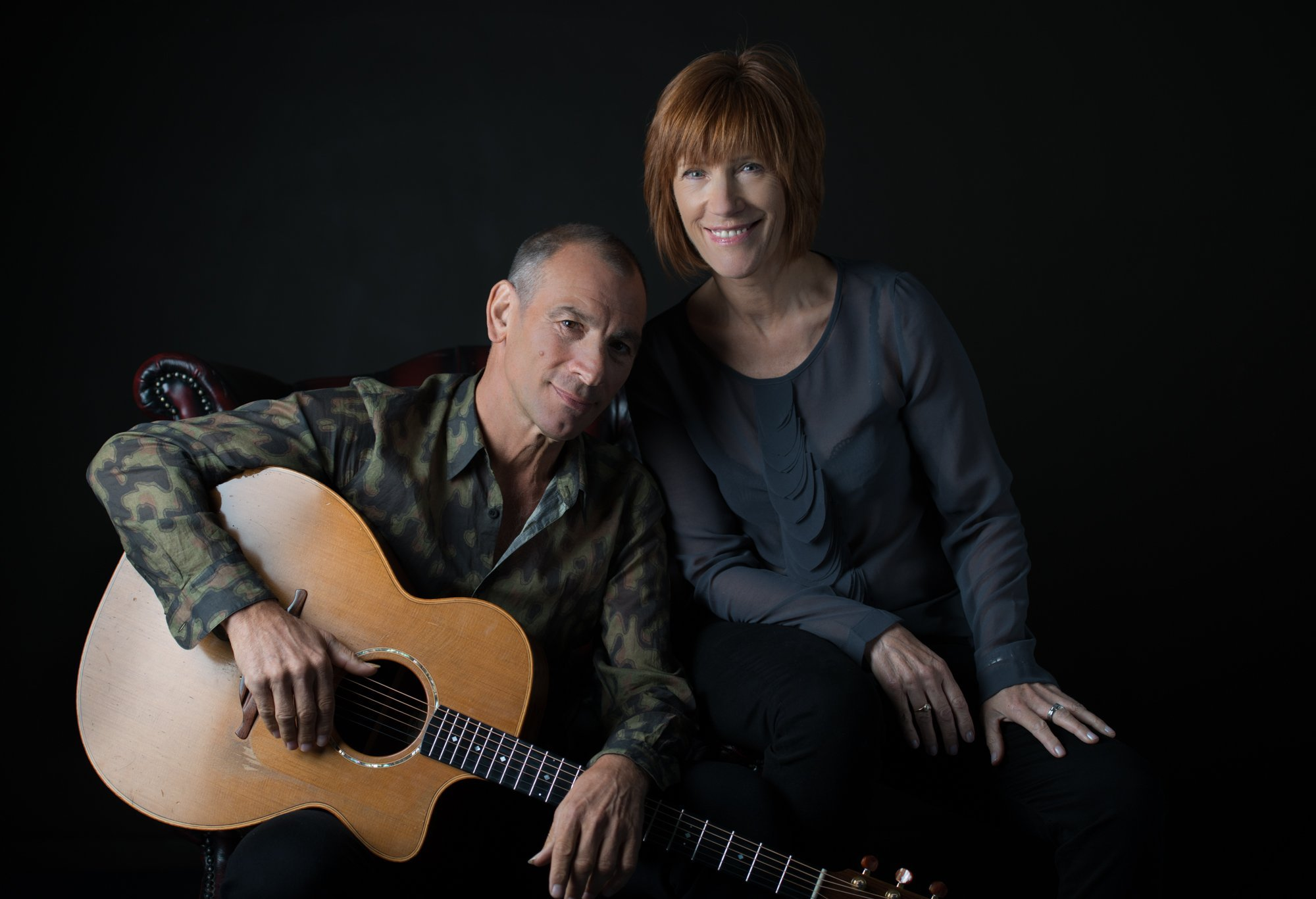 Kiki Dee and Carmello Luggeri. Picture: Paul Watson.