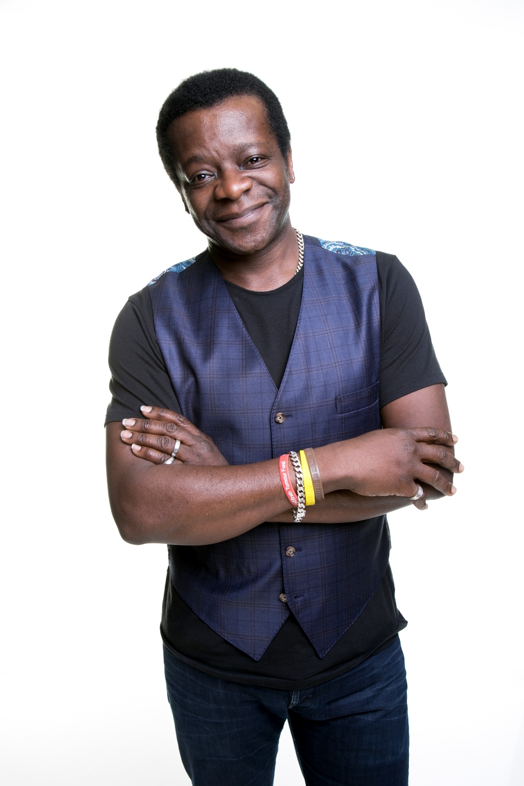 Stephen K Amos is performing as Bingley Arts Centre