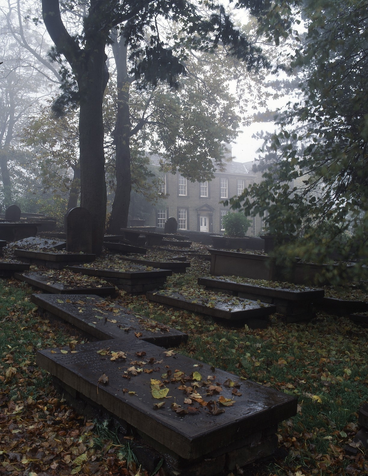 Autumn comes to the Bronte Parsonage Museum in Haworth