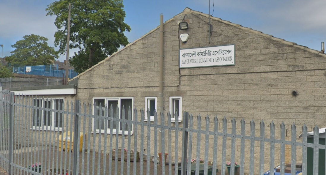 Bangladeshi Community Association, in Kensington Street, Keighley. Image from Google Street View.