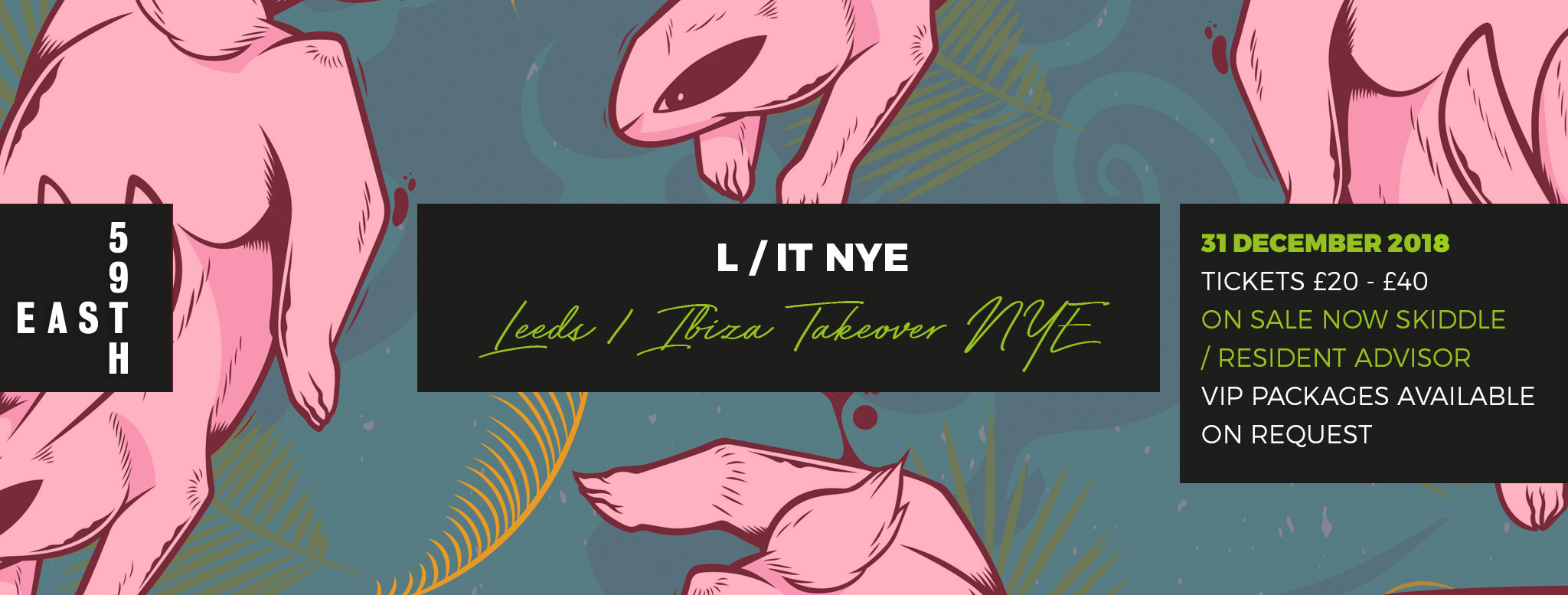 L/IT Ibiza Takeover NYE Roof Top Party