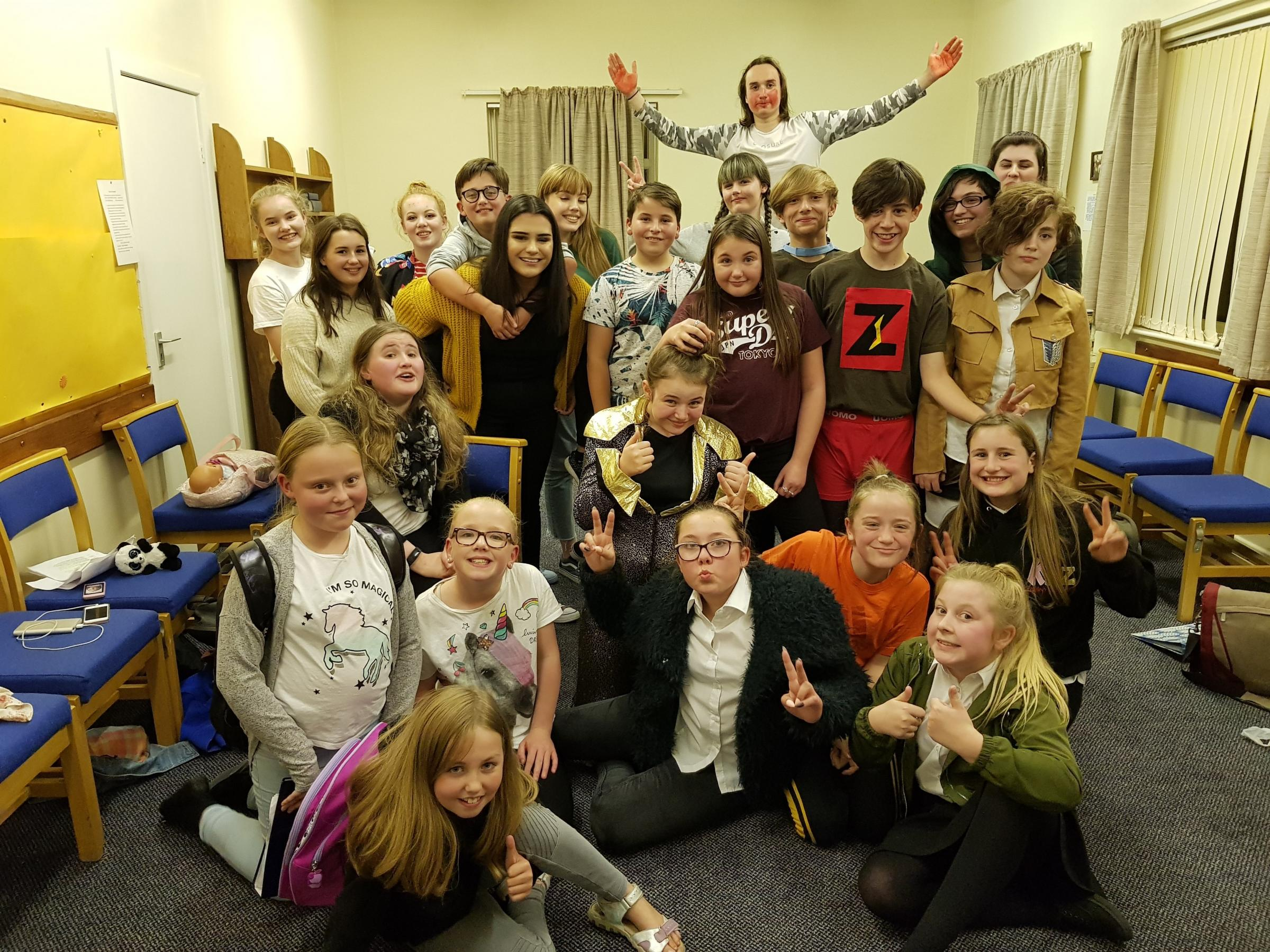 KYDZ Keighley Youth Theatre are presenting a concert in Oakworth