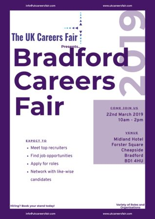 UK Careers Fair in Bradford March 2019