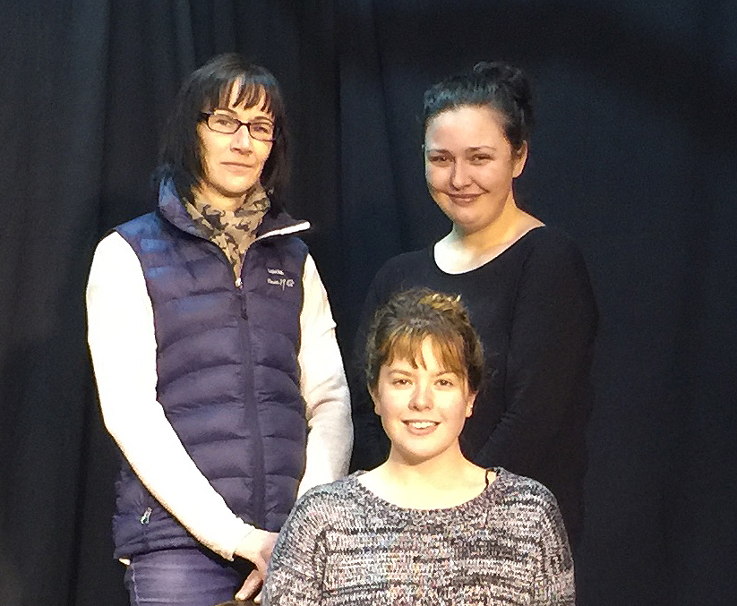 Members of the cast of Three Sisters which is being performed by Skipton Players