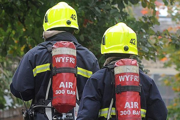 Firefighters tackle night heath blaze at Oldfield