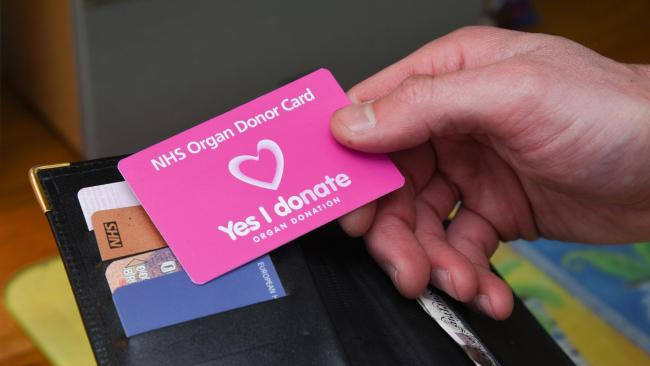 The law relating to organ donation will change next year, meaning adults will be considered to have agreed to be an organ donor when they die, unless they have indicated otherwise