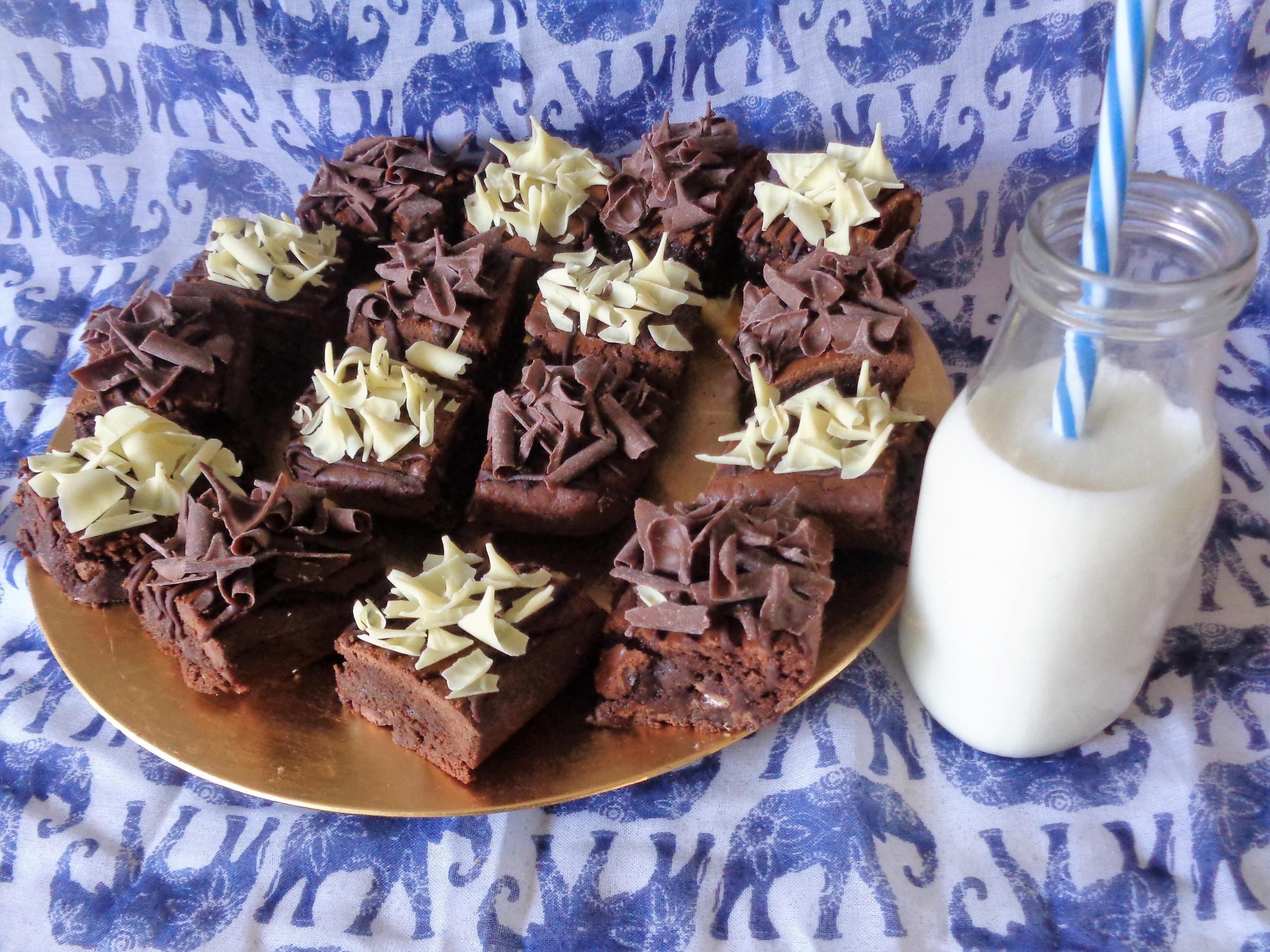 Recipe for Chocolate Fudge Brownie