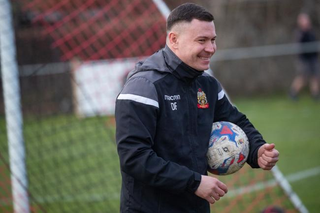 Danny Forrest says things are going well for Silsden on and off the pitch Picture: David Brett
