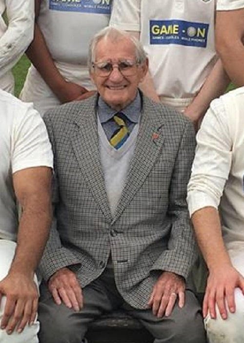 Edgar Bottomley has died at the age of 94  Picture: Keighley CC Facebook