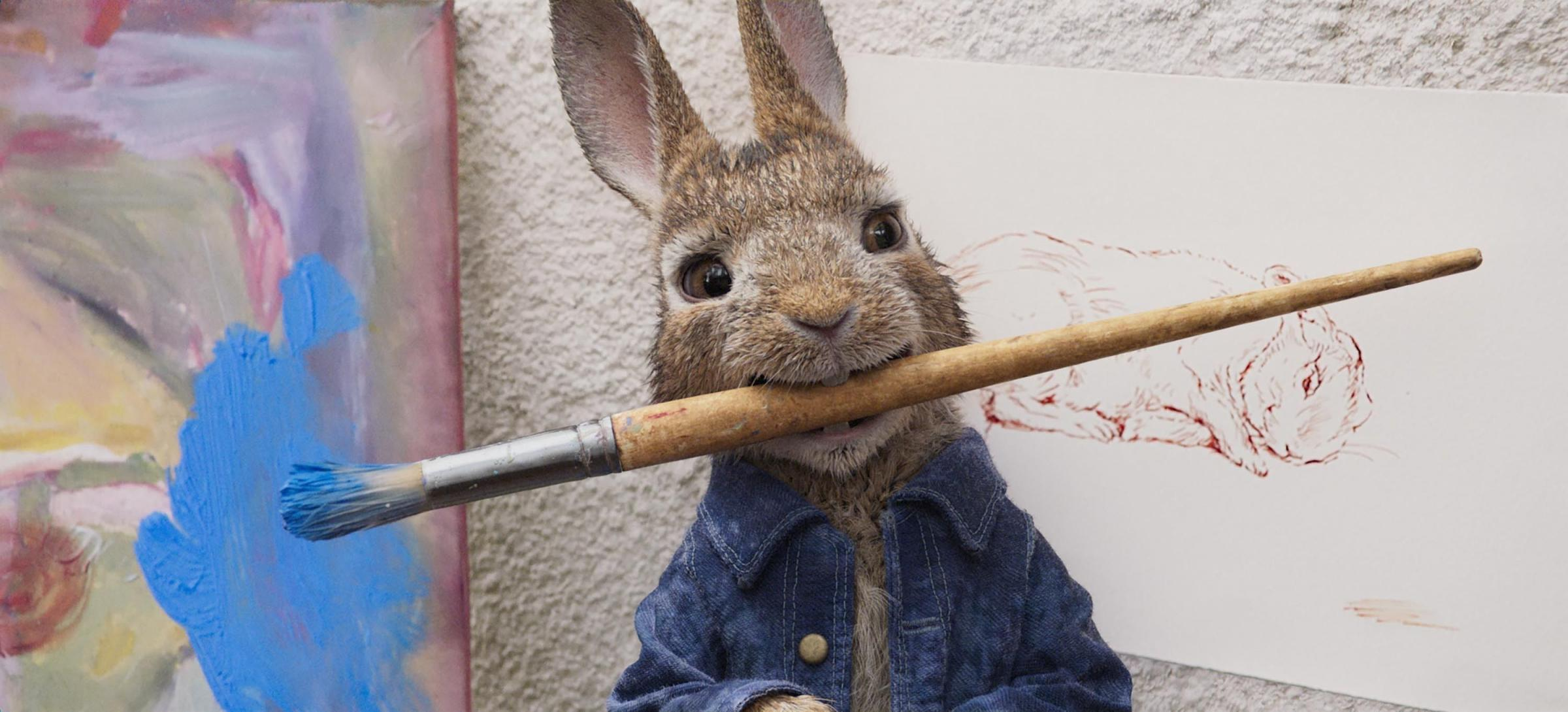 A scene from Peter Rabbit. Picture by CTMG, Inc./Sony Pictures.