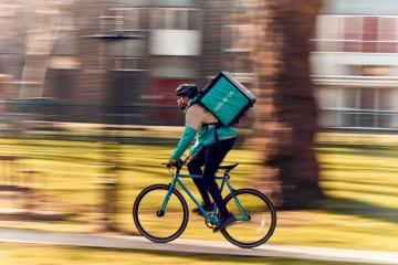 Deliveroo launches in Keighley – and over 40 restaurants and food retailers are signed-up