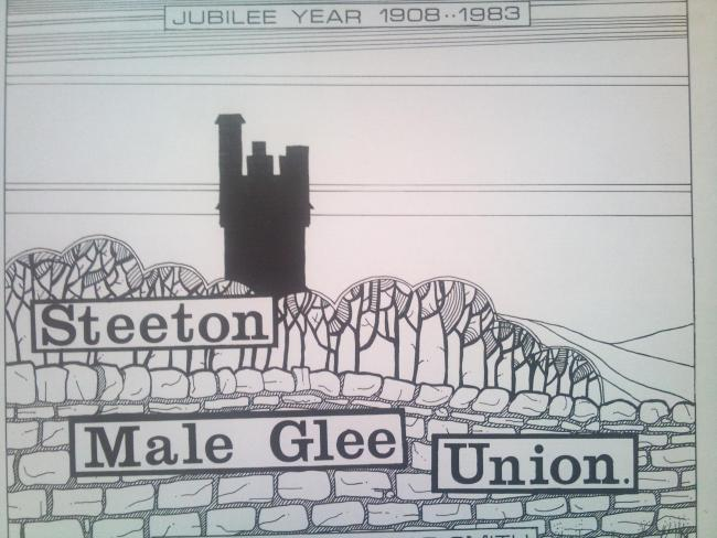 A cassette has been found with a recording by Steeton Male Glee Union, now Steeton Male Voice Choir