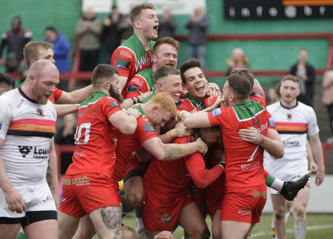 Cougars face an almighty task to beat London Broncos in the Challenge Cup, but they will feel they are capable, having almost pulled off a huge shock against Bulls in the competition back in 2019. Picture: Charlie Perry.