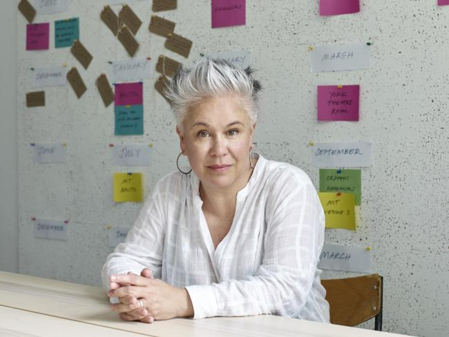 Theatre director Emma Rice.  photographed at her office in Bristol.