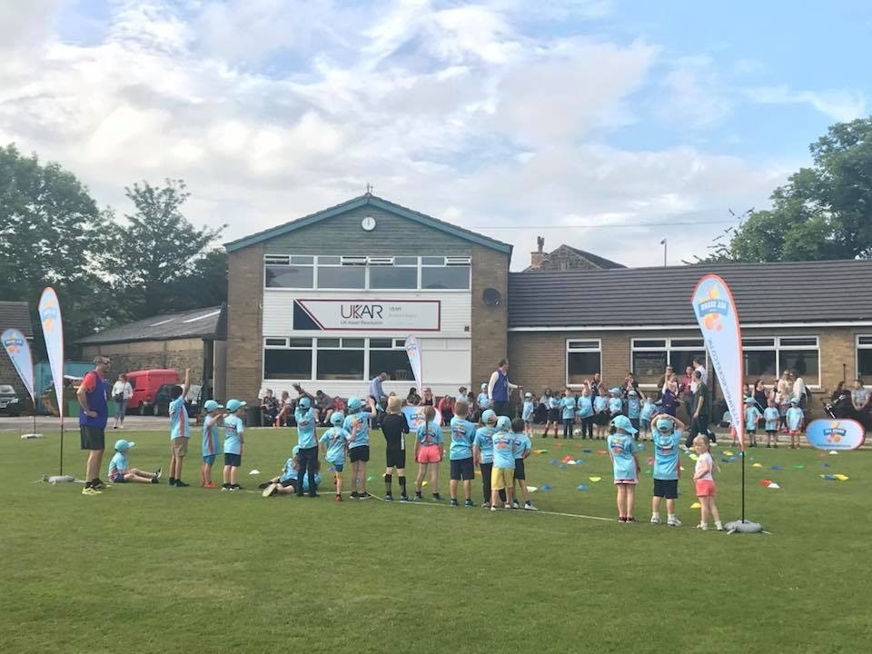 Crossflatts Cricket Club host a popular All Stars session last season. The club are running another course this summer